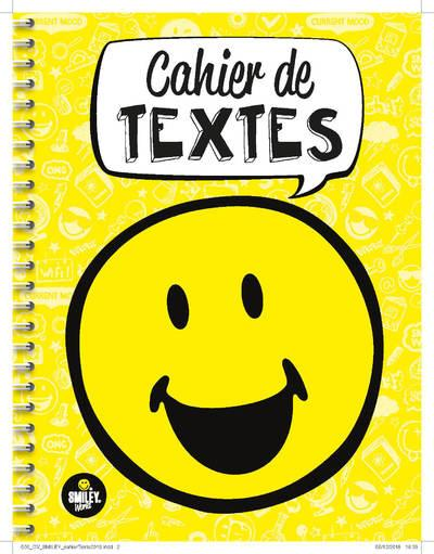 SMILEY - CAHIER DE TEXTES 2019-2020  Lgdj