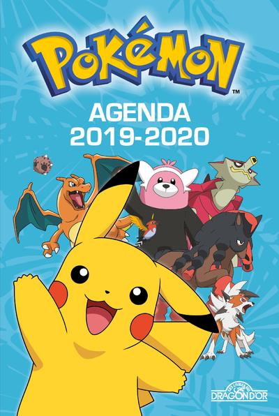POKEMON - AGENDA 2019-2020 THE POKEMON COMPANY Lgdj