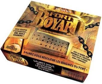 FORT BOYARD - ESCAPE BOX FORT BOYARD Lgdj