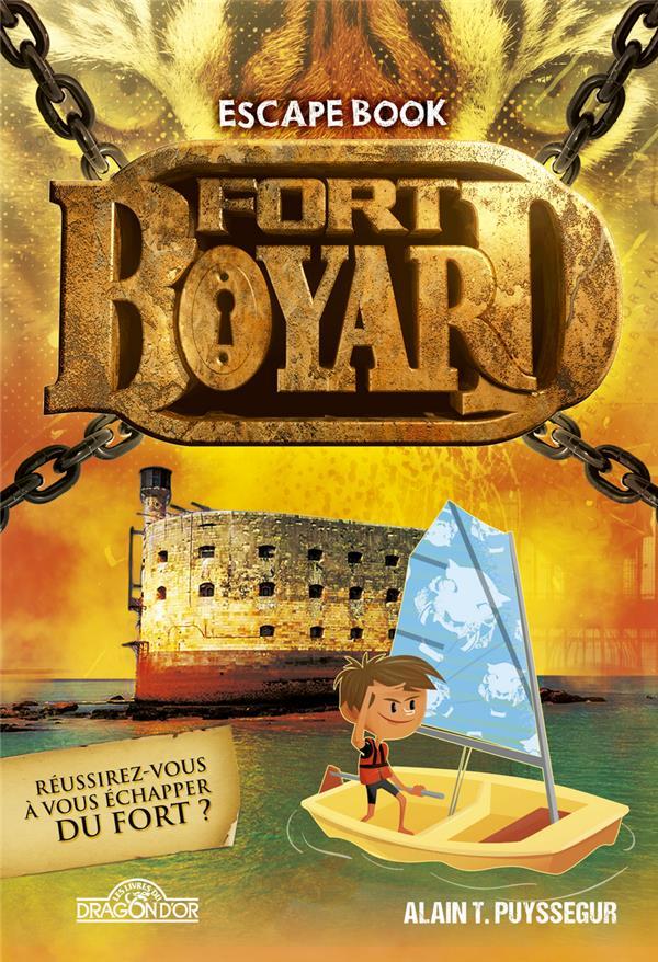 FORT BOYARD - ESCAPE BOOK  DRAGON D'OR