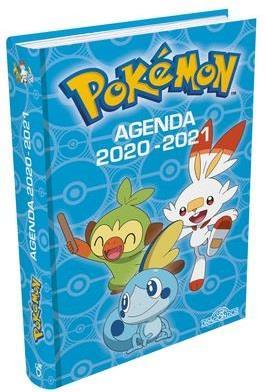POKEMON  -  AGENDA (EDITION 20202021)