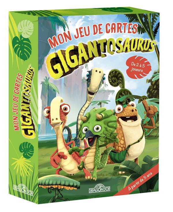GIGANTOSAURUS  -  MON JEU DE CARTES