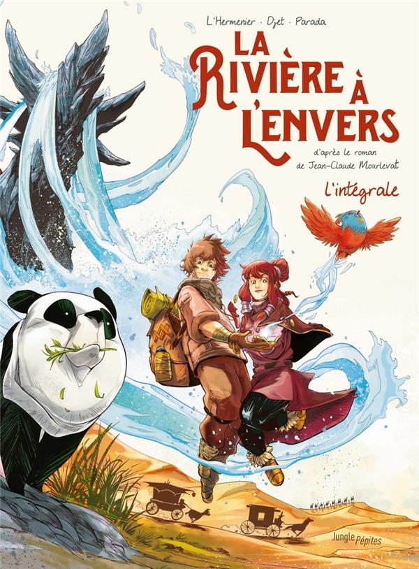 LA RIVIERE A L'ENVERS  -  INTEGRALE T.1 ET T.2