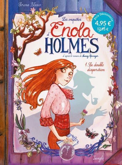 LES ENQUETES D'ENOLA HOLMES T.1  -  LA DOUBLE DISPARITION BLASCO/SPRINGER CASTERMAN