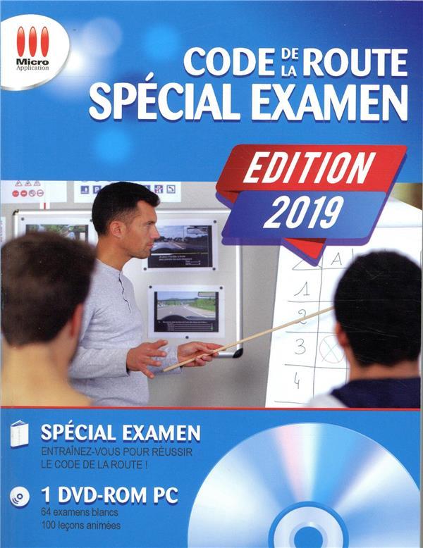- CODE DE LA ROUTE SPECIAL EXAMEN (EDITION 2019)