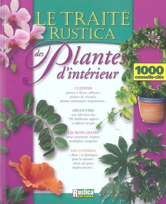 LE TRAITE RUSTICA DES PLANTES D'INTERIEUR BEAUVAIS/BONDUEL RUSTICA