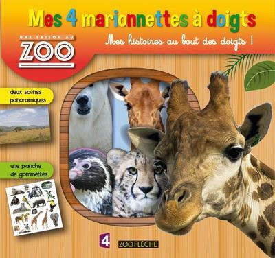 Une Saison Au Zoo Mes 4 Marionnettes A Doigts Des
