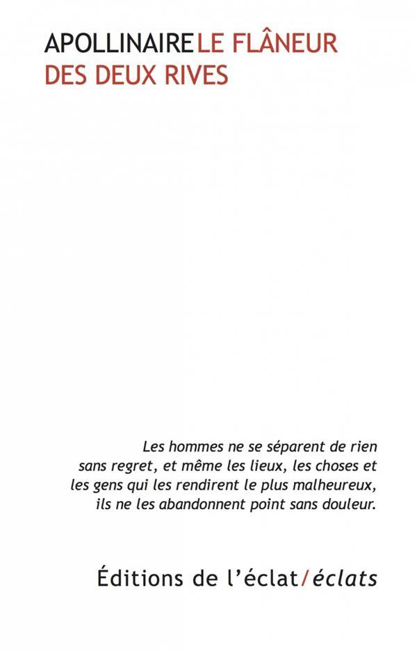 LE FLANEUR DES DEUX RIVES