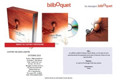 COFFRET COTON BLUES Gouel Oréli Bilboquet