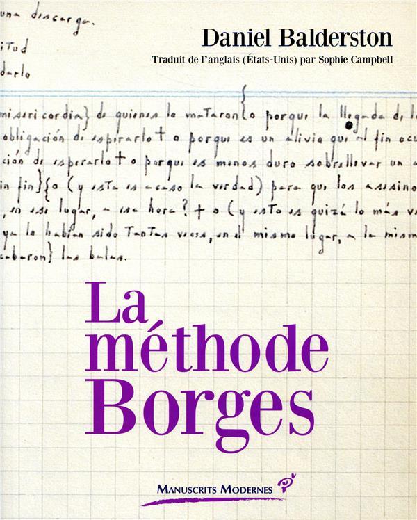LA METHODE BORGES