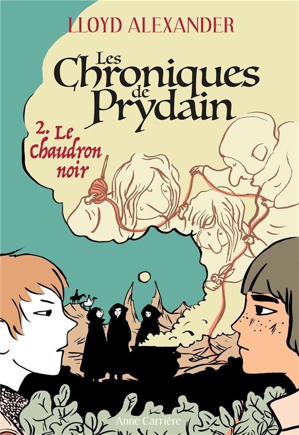 LES CHRONIQUES DE PRYDAIN T.2  -  LE CHAUDRON NOIR