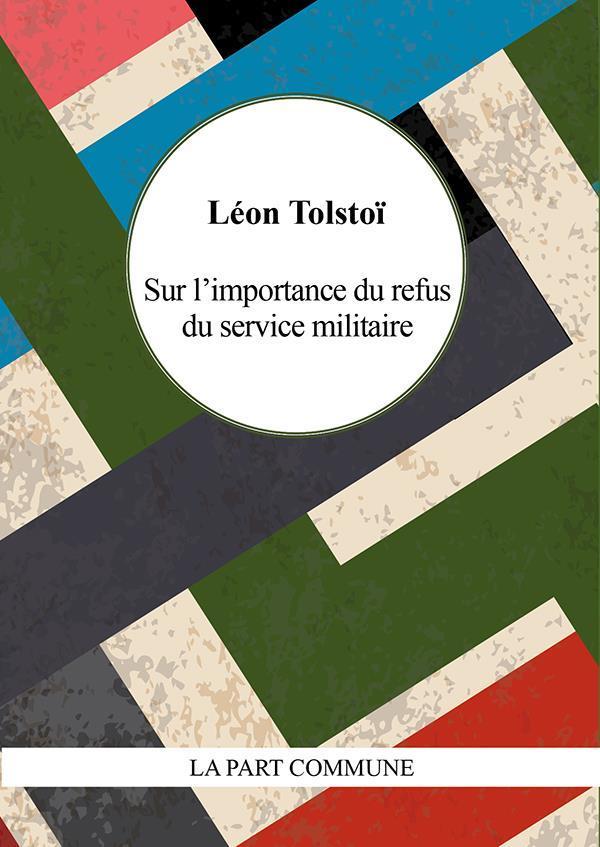 SUR L-IMPORTANCE DU REFUS DU S TOLSTOI LEON PART COMMUNE