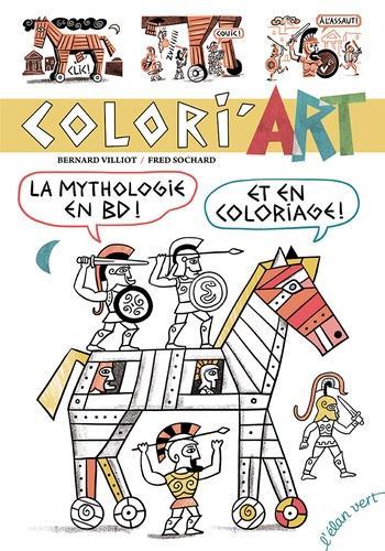COLIRI'ART  -  LA MYTHOLOGIE EN BD ET EN COLORIAGE !