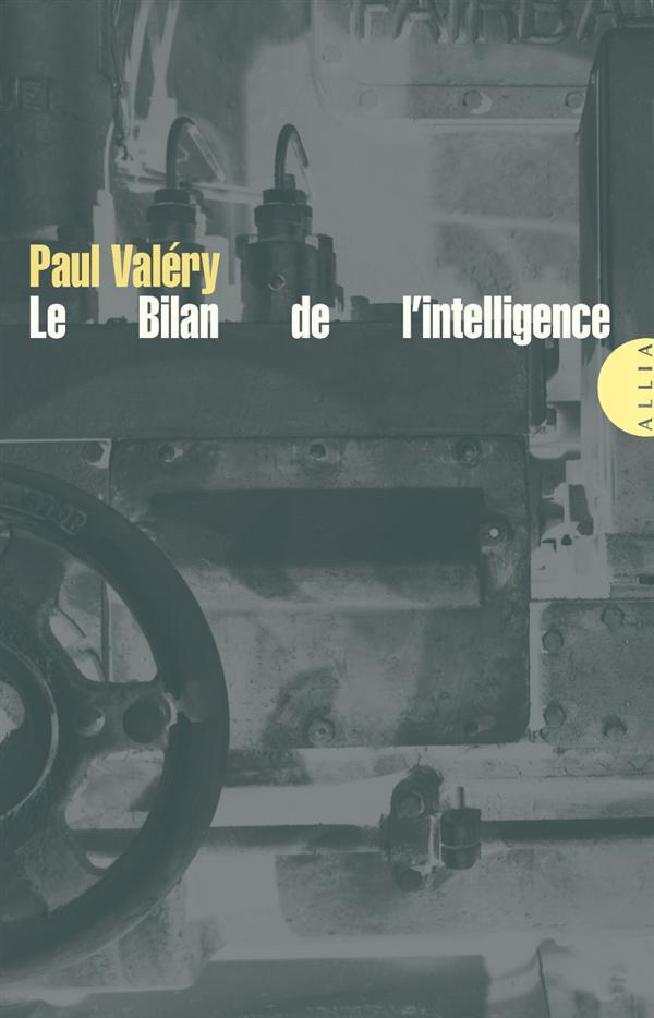 LE BILAN DE L-INTELLIGENCE VALERY PAUL ALLIA