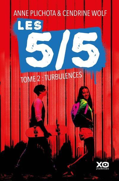 LES 5/5 - TOME 2 TURBULENCES WOLF CENDRINE XO