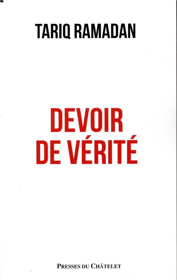 - DEVOIR DE VERITE