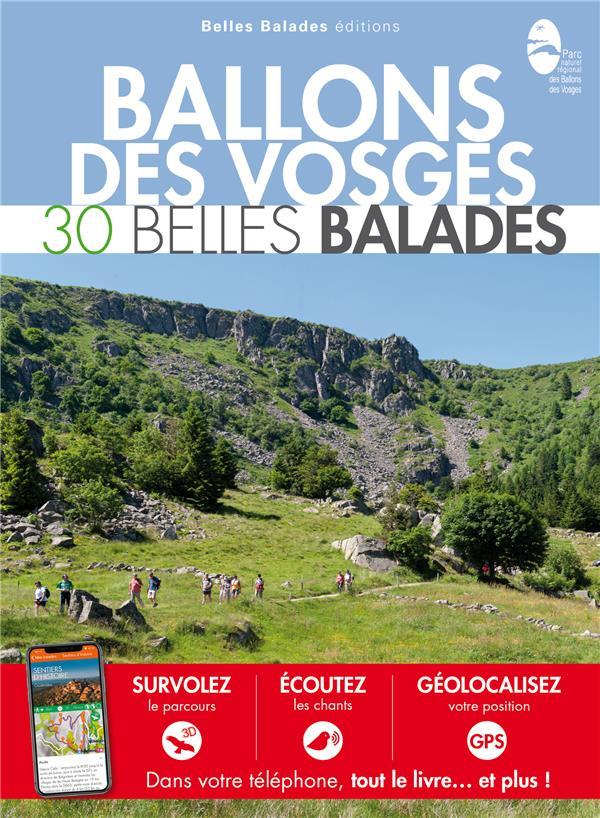 BALADES NATURE  -  BALLONS DES VOSGES  -  30 BELLES BALADES COLLECTIF DAKOTA