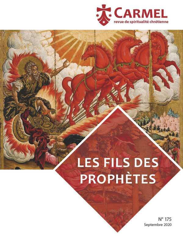 REVUE DU CARMEL  -  LES FILS DES PROPHETES