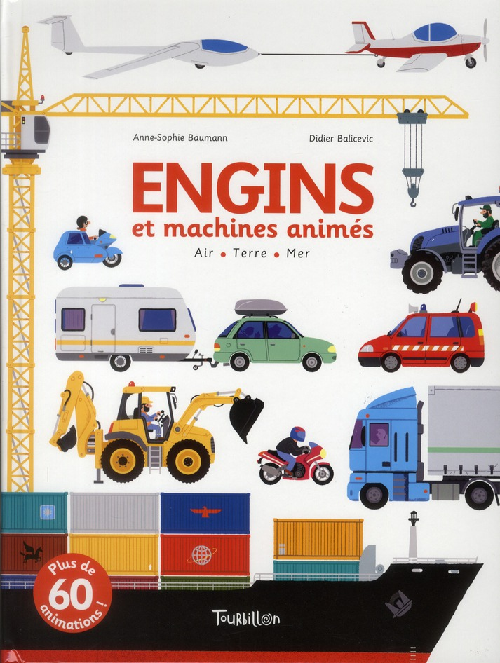 ENGINS ET MACHINES ANIMES  -  AIR  -  TERRE  -  MER