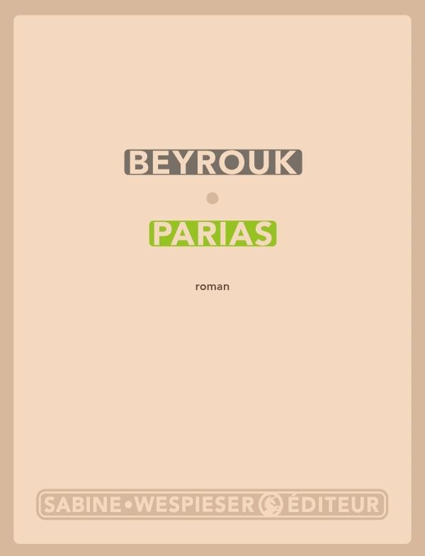 PARIAS BEYROUK SABINE WESPIESE