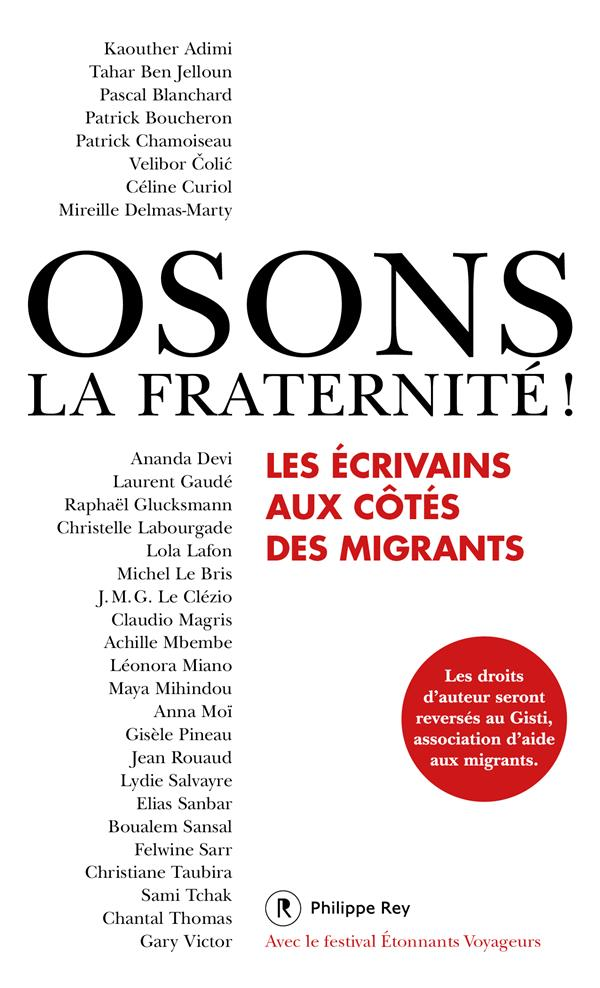 OSONS LA FRATERNITE !