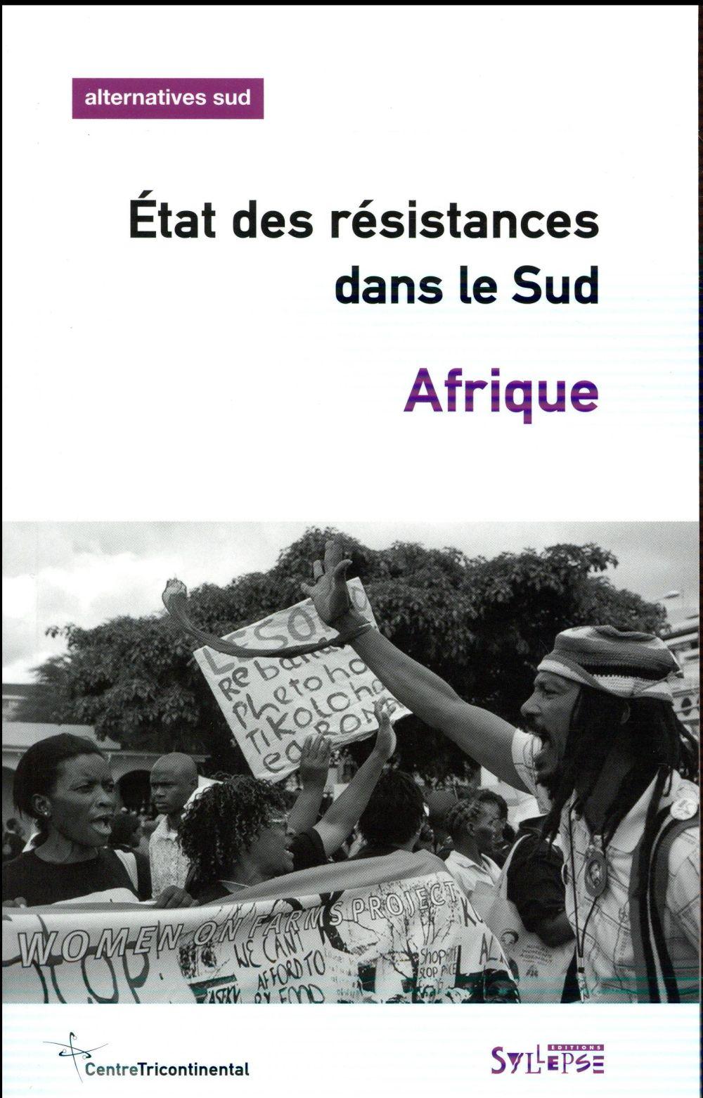 AFRIQUE, ETAT DES RESISTANCES