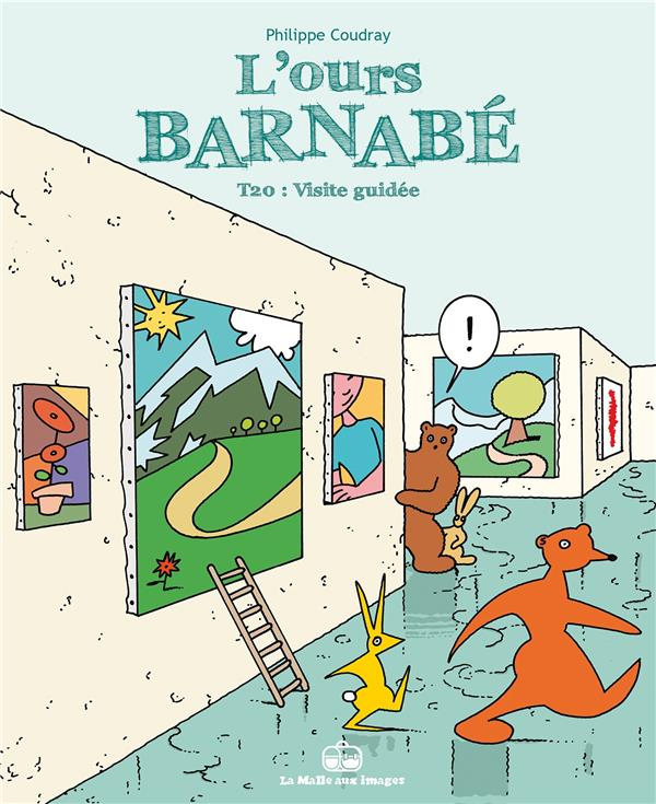 L'OURS BARNABE T.20  -  VISITE GUIDEE