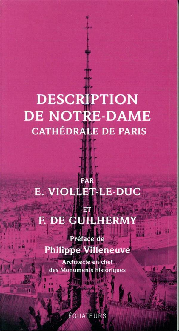 DESCRIPTION DE NOTRE DAME DE PARIS