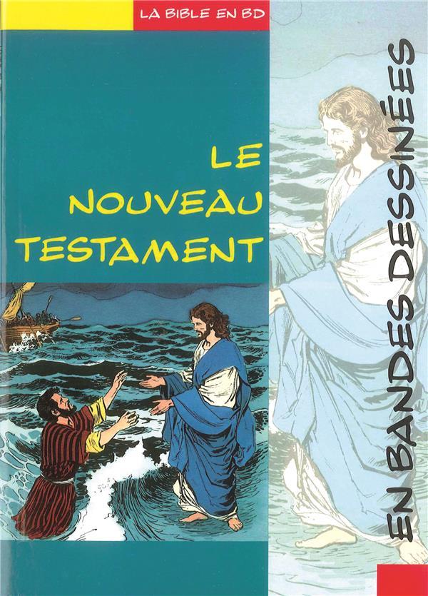LE NOUVEAU TESTAMENT EN BANDE DESSINEE COLLECTIF LECTURE BIBLE F