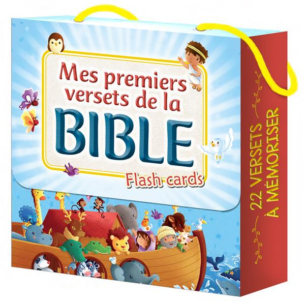 MES PREMIERS VERSETS DE LA BIBLE  -  FLASH CARDS