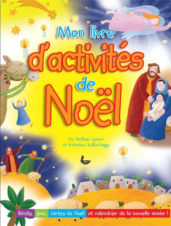 MON LIVRE D'ACTIVITES DE NOEL