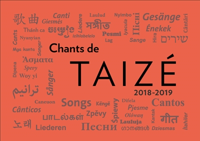 CHANTS DE TAIZE 2018-2019
