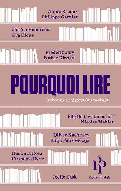 POURQUOI LIRE