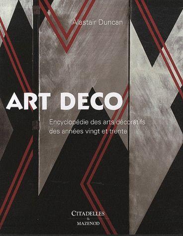 ART DECO DUNCAN-A CITADELLES
