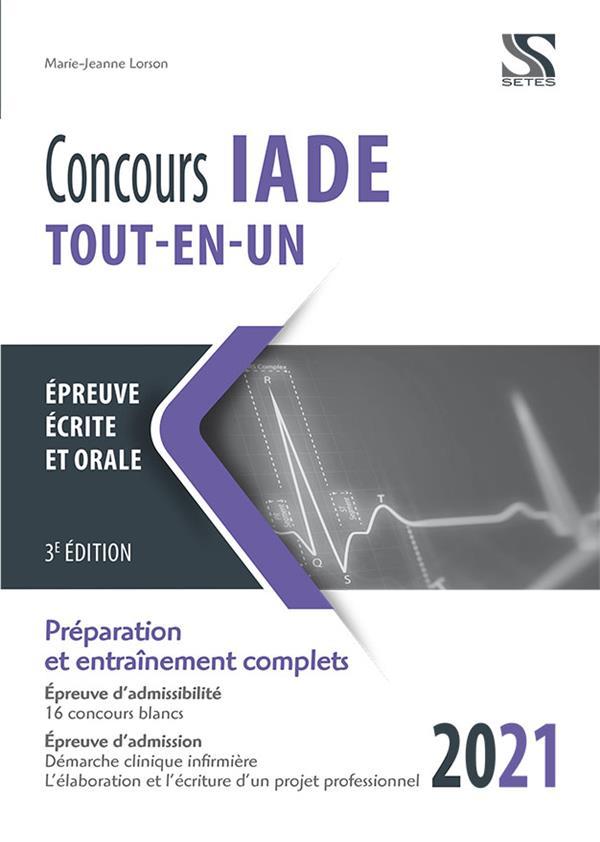 CONCOURS IADE  -  TOUT-EN-UN (EDITION 2021)
