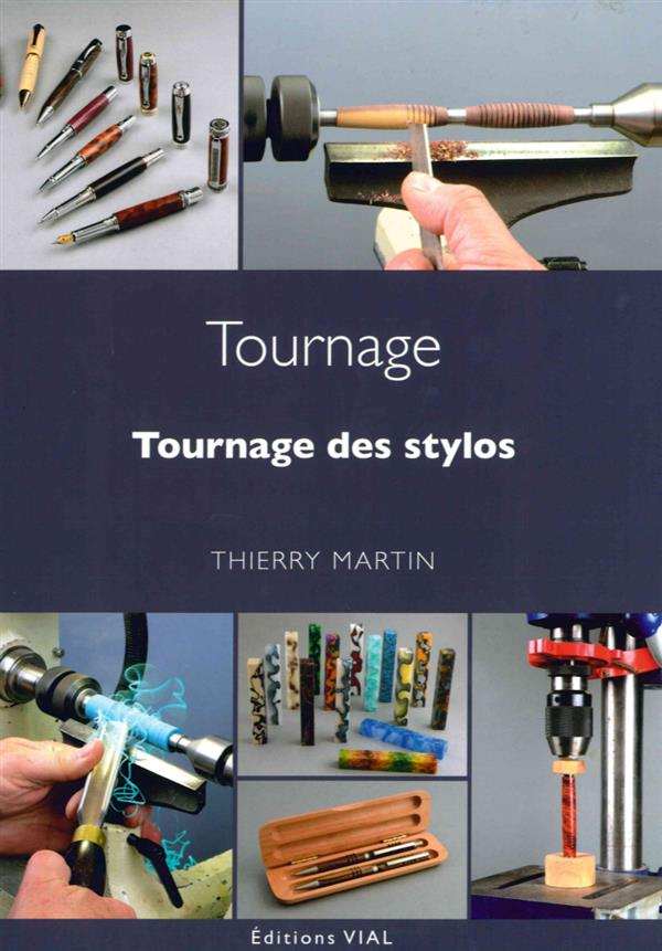 TOURNAGE DES STYLOS MARTIN THIERRY VIAL