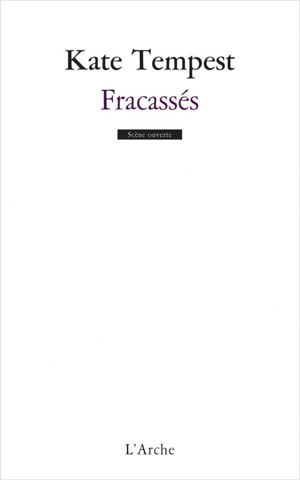 FRACASSES TEMPEST KATE L'ARCHE