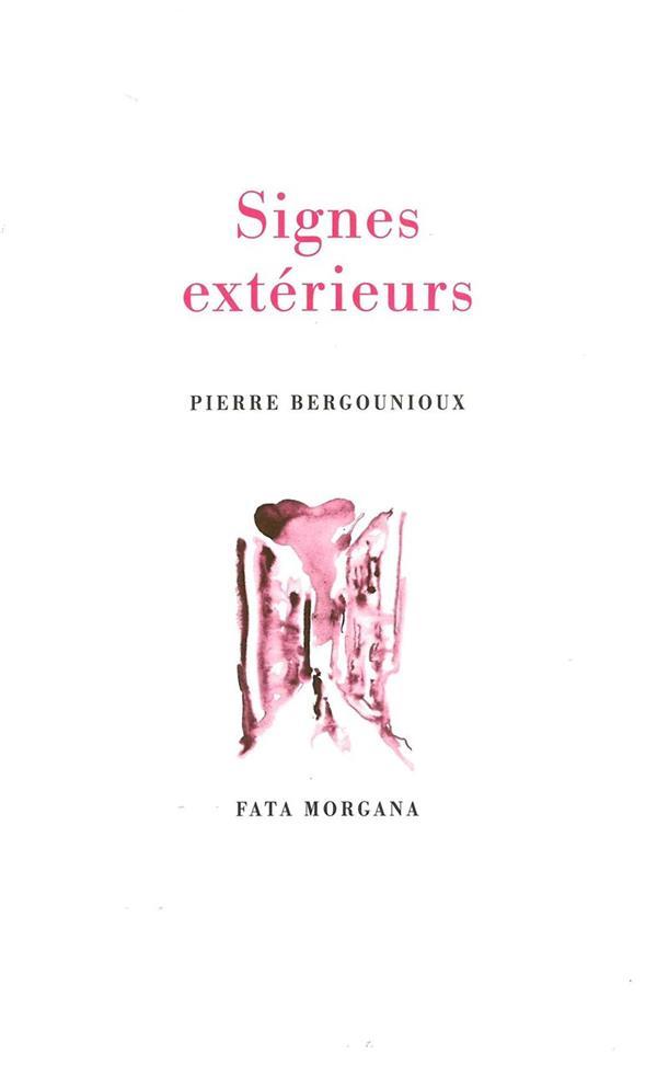 SIGNES EXTERIEURS