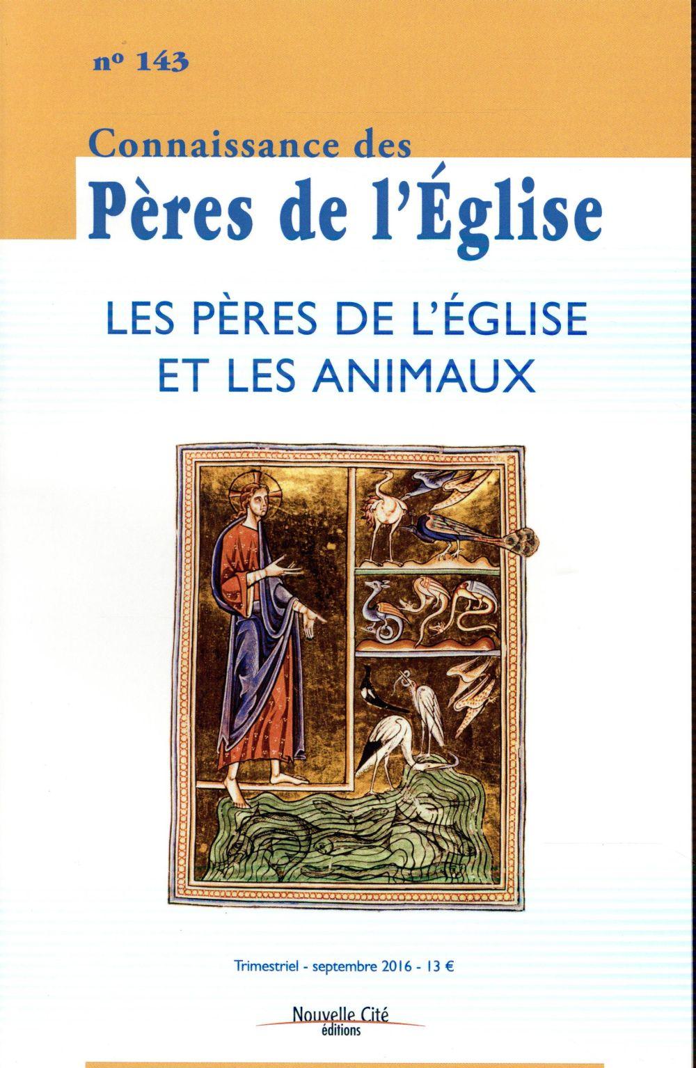 CPE 143 LES PERES DE L'EGLISE ET LES ANIMAUX