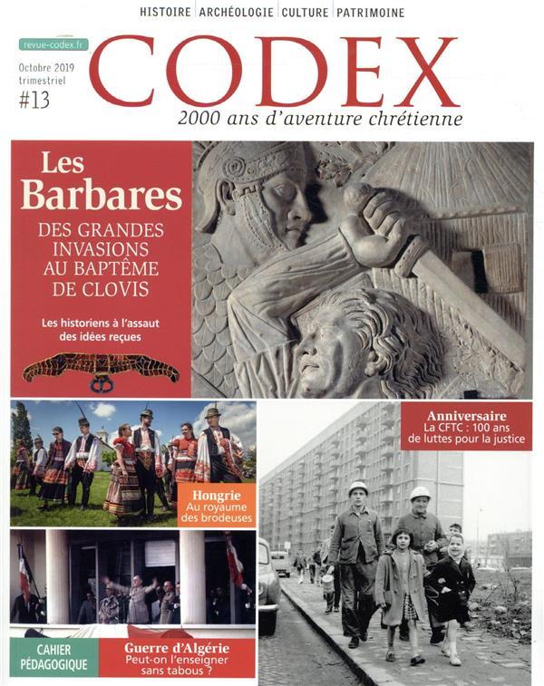 LES BARBARES CODEX#13