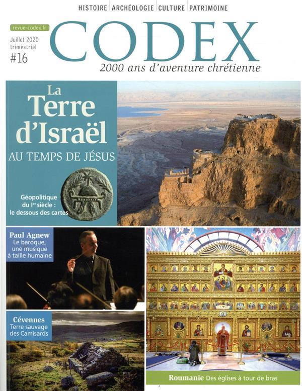 LA TERRE D'ISRAEL AU TEMPS DE JESUS CODEX#16