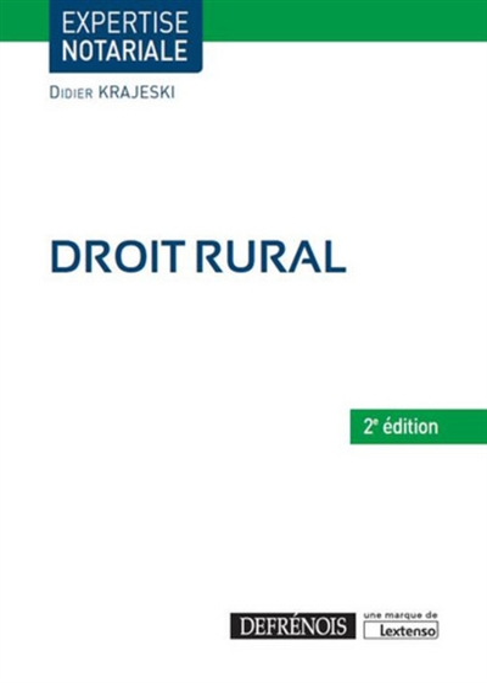 DROIT RURAL   2EME EDITION