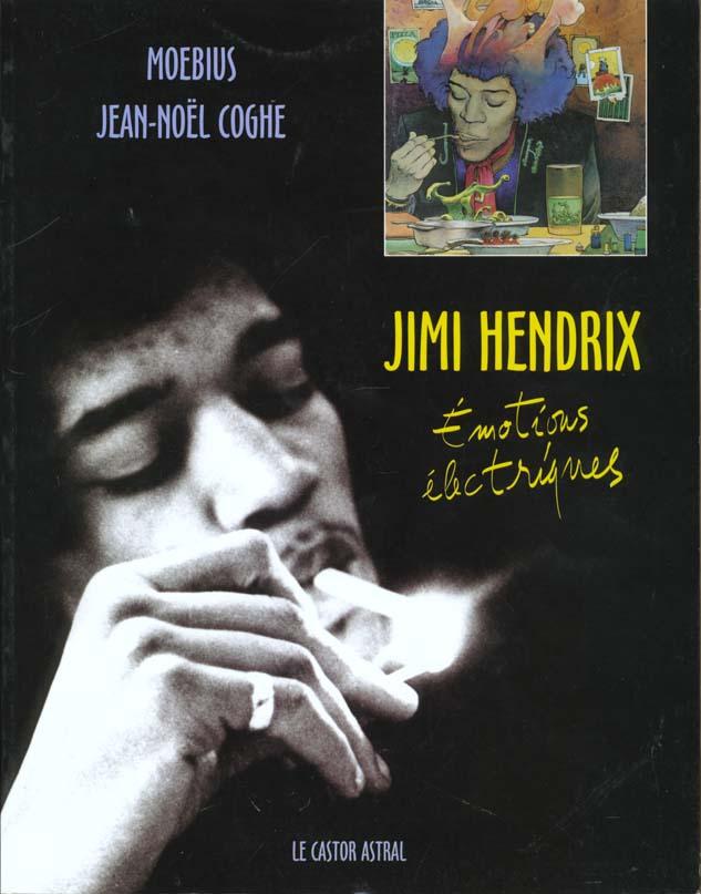 JIMI HENDRIX  -  EMOTIONS ELECTRIQUES COGHE/MOEBIUS CASTOR ASTRAL