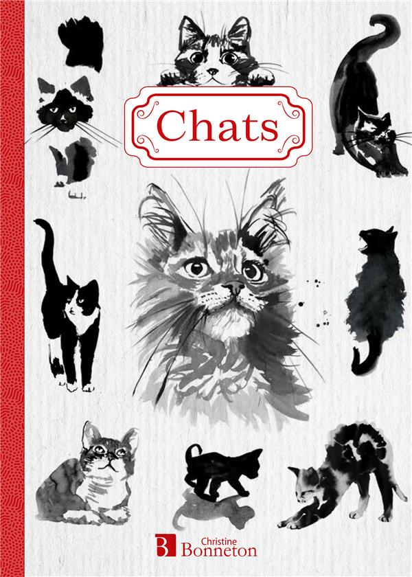 CHATS  -  CARNET DE NOTES IMBERT PHILIPPE NC