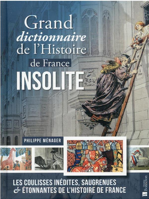 GRAND DICTIONNAIRE DE L'HISTOIRE DE FRANCE INSOLITE PHILIPPE MENAGER BONNETON