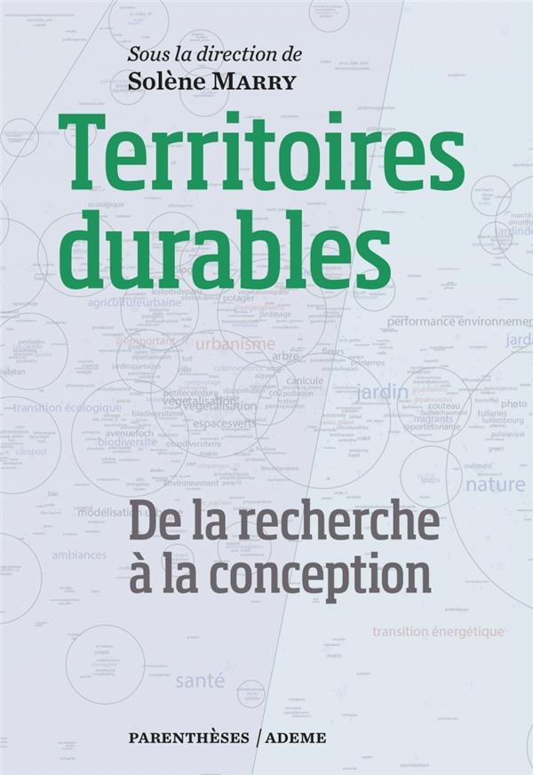 TERRITOIRES DURABLES  -  DE LA RECHERCHE A LA CONCEPTION