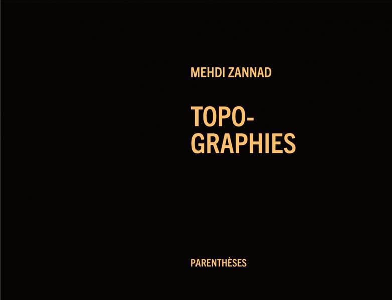 TOPO-GRAPHIES