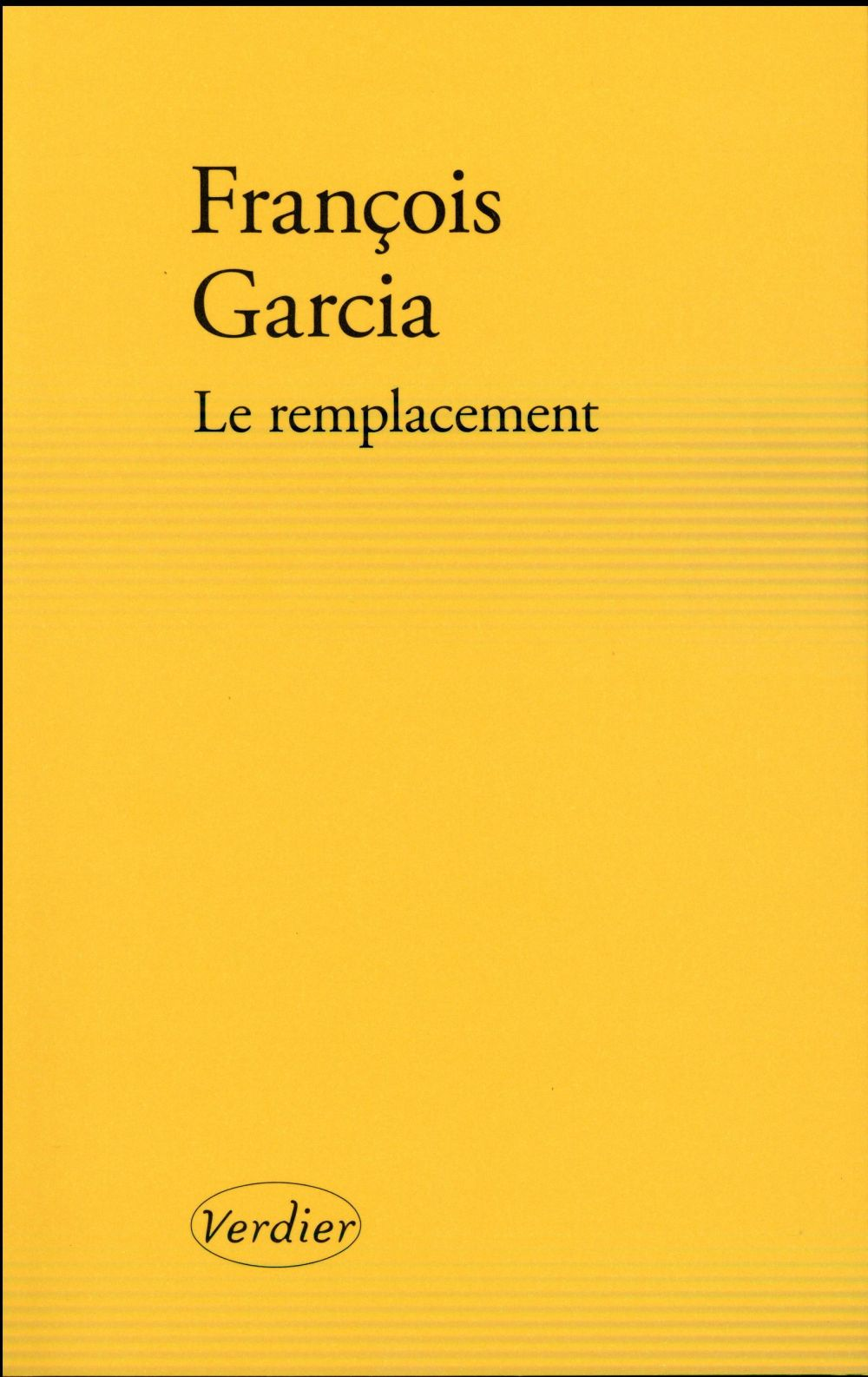 LE REMPLACEMENT ROMAN