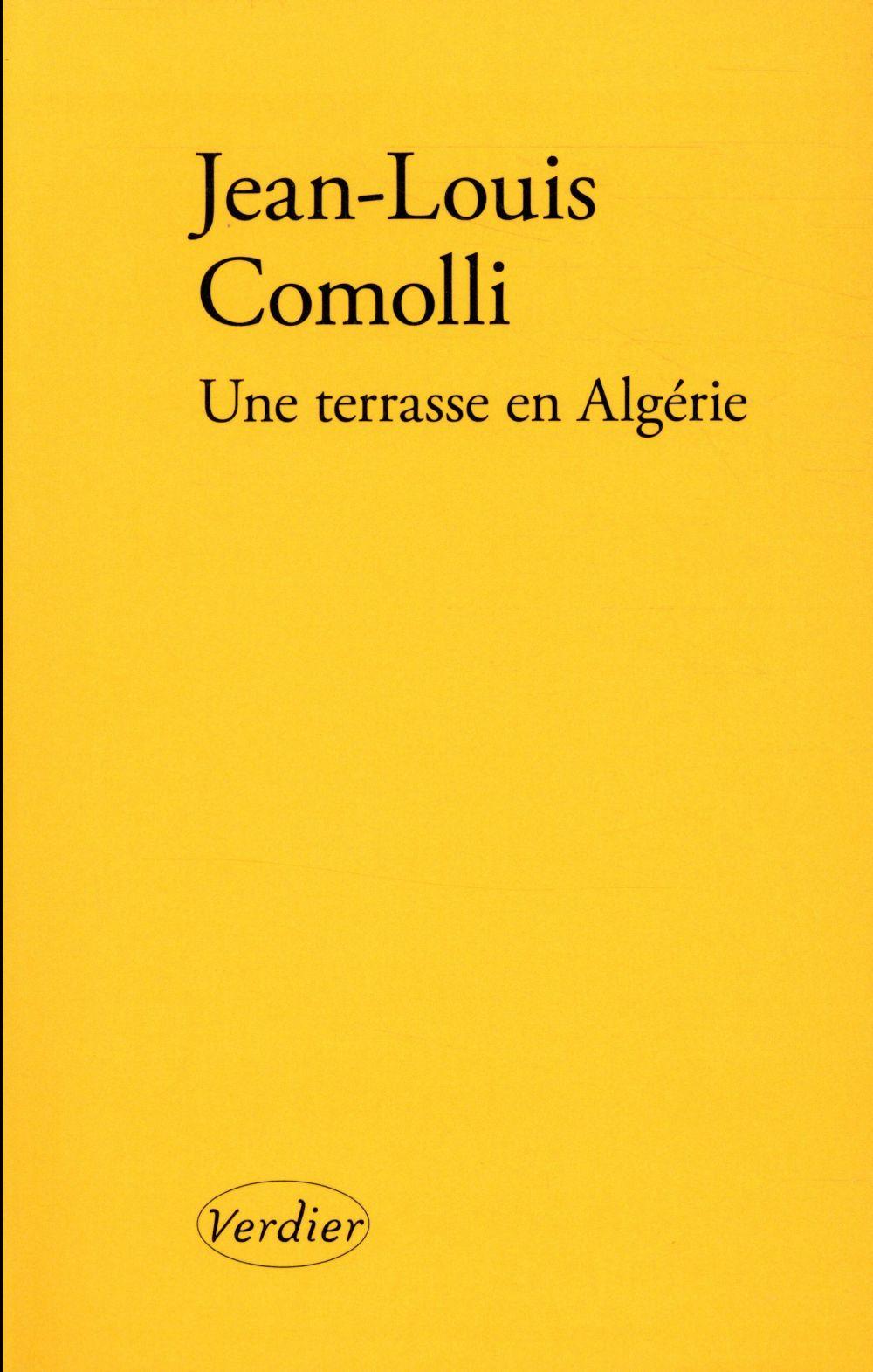 UNE TERRASSE EN ALGERIE