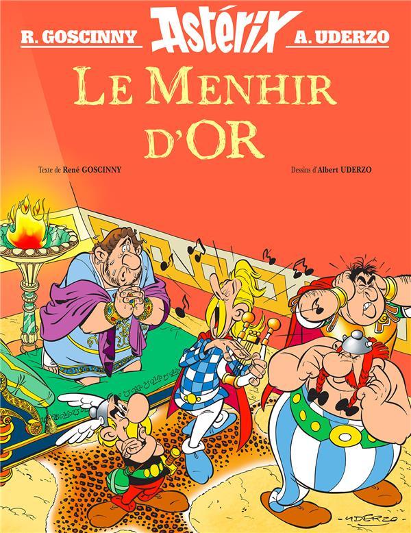 ASTERIX HORS-SERIE  -  LE MENHIR D'OR GOSCINNY/UDERZO Albert René (Editions)